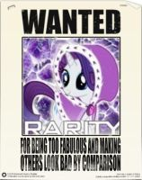 Equestria's Most Wanted: Rarity by snakeman1992