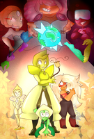 CE - Twist Fate with Steven Universe by LittleMissilyn