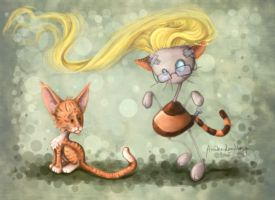 The Copy Cat by akinna