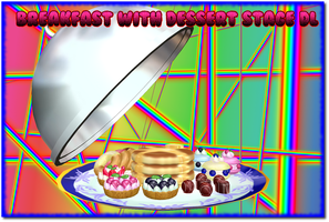 MMD Breakfast with Dessert Stage DL by AkitaFanZ