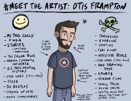 Meet The artist by OtisFrampton