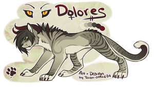 OC: Dolores by TalonEX