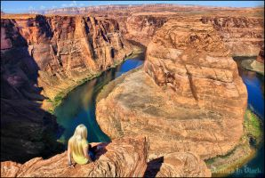 Horseshoe bend by darkmercy