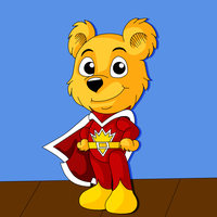 Chibi Superted by Natter45