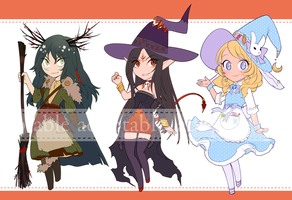 Witches 2 [CLOSED] by aketan-adopts