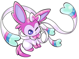 Sylveon by Kyrogeki