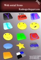 Web Social Icons Pack by koidesign
