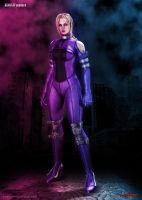 Nina Williams - Death By Degrees HD by Yoshi-Lee
