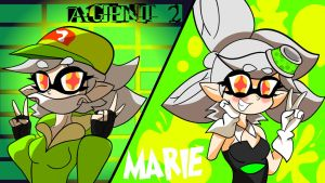 Double Life - Marie _ Agent 2 by ZETHGREEN