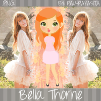 Bella Thorne PNG by Pau-Payasita