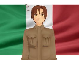 MMD Hetalia model:Romano by Ash080897