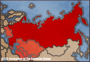 Eurasian Union by YNot1989