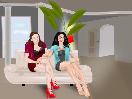 Two ladies by buletica