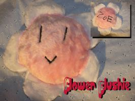 Flower plushie by Laia-pink