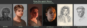 Draw This Again - Self portrait by TimLiljefors