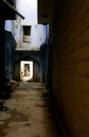 Indian alleyway by jmwvann