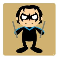 nightwing by striffle