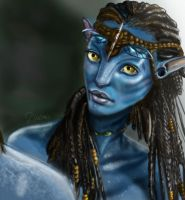 neytiri AVATAR by Daria91