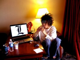 Daily Death Note: L by gacktstream