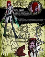 Lucy Valken: Character Design by DG-ART85