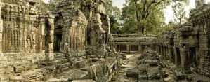 Banteay Kdei pana by lesterlester