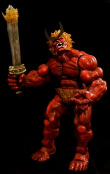 Marvel Legends SURTUR Custom Action Figure by RedRebelCustoms