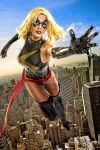 Ms. Marvel in Flight by jaytablante