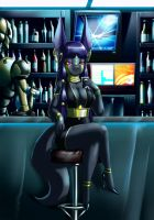 Jackal at the night club .::gift for Teckworks::. by crovirus
