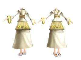 MMD Empress Dress by SachiShirakawa