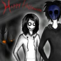 Creepy Halloween by Lady-Holdren
