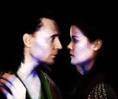 AU Loki/Sif: You Are Not Alone. by ICommentOnStuff