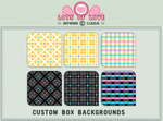 CBox BG - Pretty in Plaid 2 by firstfear