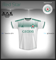 Red Star Away by ToonsCio