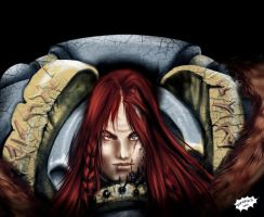 Lone_Wolf_Sven-_IronFang by Axcido