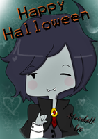 Marshall Lee : Happy Halloween by Hozukami