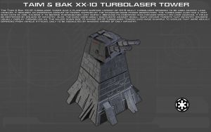XX-10 Turbolaser Tower Tech Readout [New] by unusualsuspex