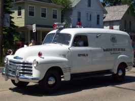 OLD CHEVY AMBULANCE by AckBo