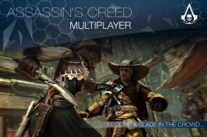 Assassin's Creed Multiplayer Mock-up Ad 2 by patgarci