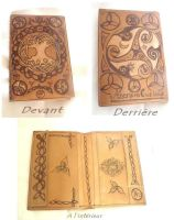Customised Wallet by MademoiselleOrtie