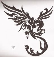 Black Phoenix by Colors-Of-Summer