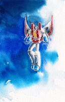 Micropaint: Starscream by The-Starhorse