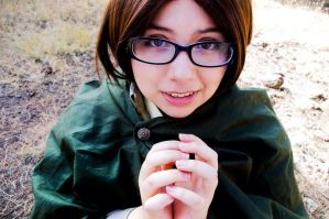Hanji by ChibiExorcistLiz