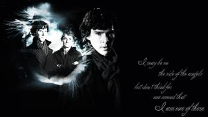 On the Side of the Angels by Super-Fan-Wallpapers