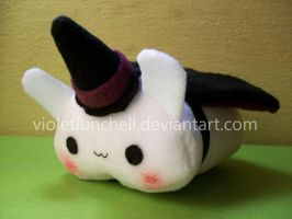 Witch bunny plushie by VioletLunchell