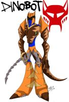 Animated Dinobot by katiewhy
