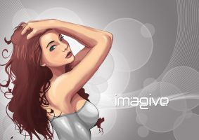imagive girl by ronaldesign
