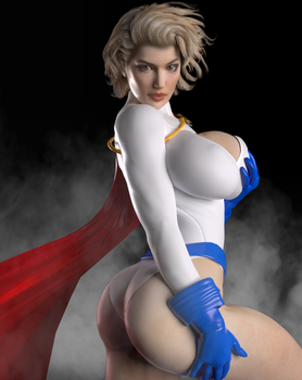 Power Girl's Goods by DolphinCoreX