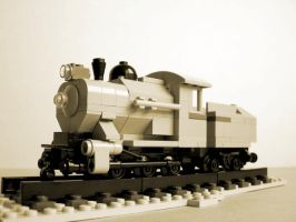 Little steam loco by Bobofrutx