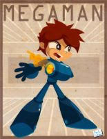 Megaman by Captain-Paulo