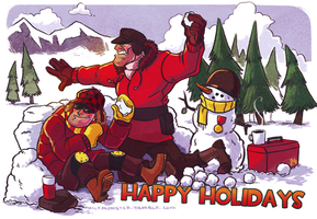 Happy Helmet Holidays by Kilo-Monster